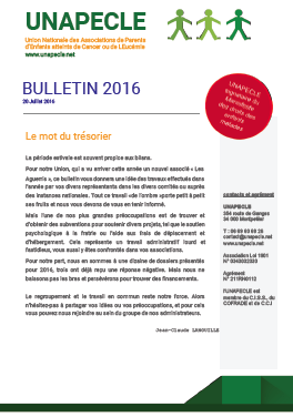 UNAPECLE-Bulletin2016couv
