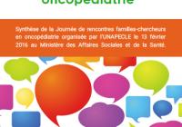 Livret des rencontres familles-chercheurs en oncopédiatrie