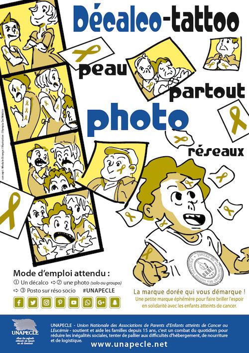 Affiche Septembre en OR - UNAPECLE - poster 2
