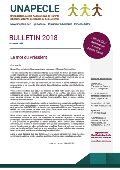 UNAPECLE Bulletin 2018